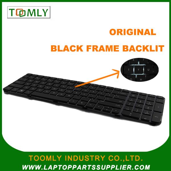 laptop keyboard for HP Pavilion DV6-6000;DV6-6000, DV6-6B, DV6-6C with Frame -----640436-001;US layout ,Black color