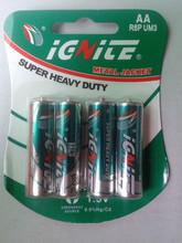 1.5v C LR14 AA size dry battery