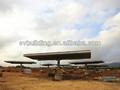 Estructura solar de alta fiabilidad de fácil instalación.