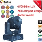 3 motors No shake No noise led spot light 60w led moving head spot