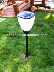 Esp Solar Powered Aluminum Led Outdoor Garden Pillar Light