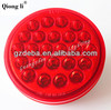 12/24V 4 inch round LED trailer tail light, super brightness rear lamp