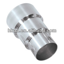 CNC machined 3 Step Steel Alloy Air Hose Reducer