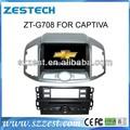 zestech multimídia carro player gps autoradio chevrolet captiva