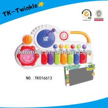kid toy plastic smile face electronic organ keyboard music instrument