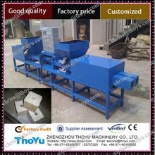 Wood pallet block machine for pallet block/feet making equipment