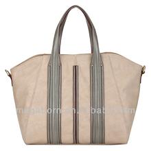 China Manufacture Leather Women Fashion Handbags
