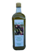 1L. Crystal Bottle Extra Virgin Olive Oil, Gourmet Quality