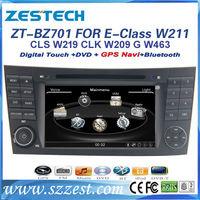 ZESTECH Touch screen car gps dvd radio audio stereo For Mercedes Benz E Class W211/CLS W219 car gps dvd radio audio stereo RDS
