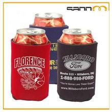 Neoprene can cooler holders, wholesale custom neoprene cylinder beer can cooler bag