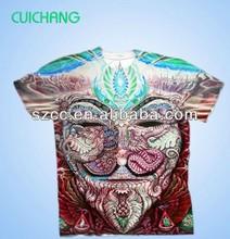 2015 All-Over Shirt Printing/ Full Color Shirts/ Sublimation printing t shirts Dye sublimation t shirt printing