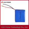 Lithium polymer battery P654050 3.7V 2600mAh of high capacity
