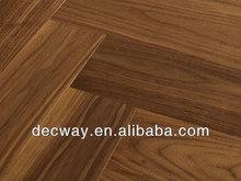 American Black Walnut veneer plywood engineered wood flooring