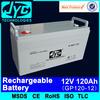 12v 120ah battery rechargeable 12 volt 120ah best battery for solar power