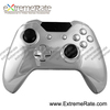 Replacement Part Custom Chorme Sliver Housing For Xbox One Controller Shell With Joystick Thumbstick ABXY Guide