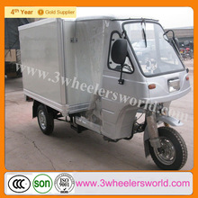 China manufacturer van cargo tricycle with cooling box/ice cream tricycle freezer for sale