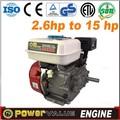 Petit moteur à essence avec embrayage. avec la moitié de speed gear box