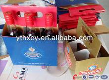 Coated Kraft Paper Strong Beer Bottle Carrier