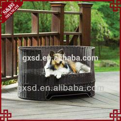 S&D handmade lovely rattan dog bed