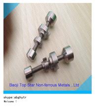 China factory wholesale adjustable Titanium glass globe nail coil vaporizer