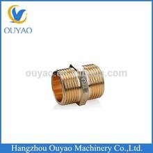 Brass Equal tube hex nipple/BRASS NIPPLE FITTING/Plumbing Material