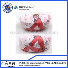 WZ 2014 digital printing case/printing sunglass box I6248