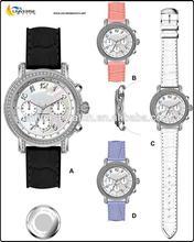 Luxury diamond watch women UN5095L-2 with sapphire crystal and quartz movt