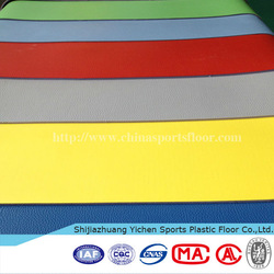 Yichen PVC Vinyl Flooring Roll/pvc sports flooring/gym flooring