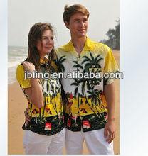 high quality lover new design hawiian t shirt