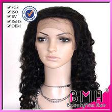 glueless european liquid silk human hair full lace wigs with bangs
