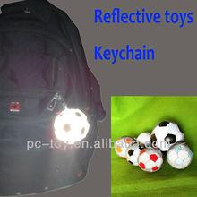 2014 children roadway safety reflective toy key chain