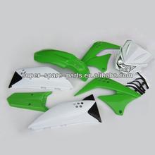 China high quality 150cc dirt bike plastic body kits klx parts