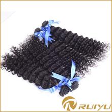 Charming 18 inch deep wave virgin remy peruvian hair weave