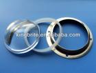 50W optical glass lens 120 degree diameter 78mm for led high bay light