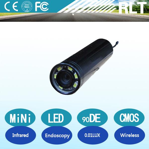 YSJ-DV800 CMOS sensor 90deg wireless battery powered pocket industrial endoscopy camera with IR/LED for gutter,duct inspection