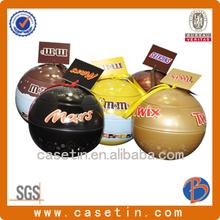 Sweet ball tin box packaging