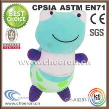 Cute stuffed Green Big Frog Plush Toy for kid girl toy
