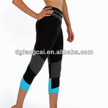 Women 86% nylon 14% spandex wholesale custom hot yoga leggings