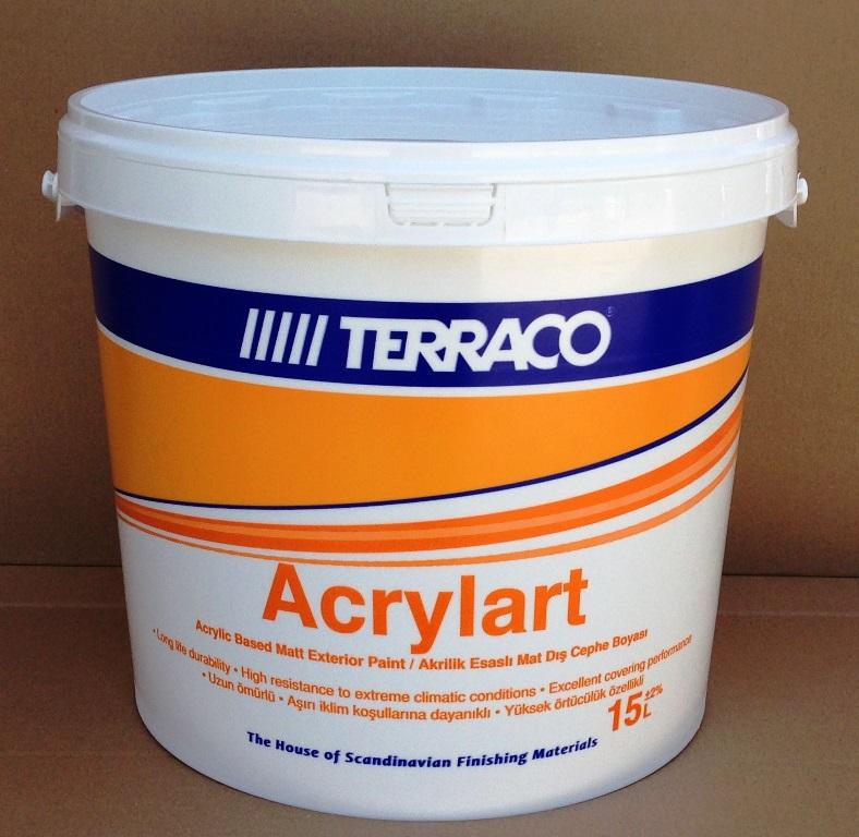 Acrylart high quality exterior matt paint - Matt exterior paint image ...