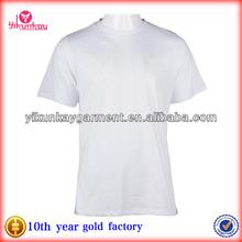 Mens Quality Eco-friendly Rayon Plain white T shirt