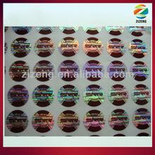 security label security laser sticker holograms