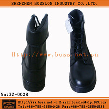 High quality genuine leather work shoe military shock resistant safety magnum boots