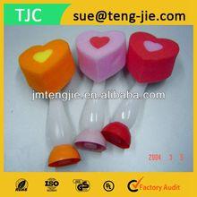 Heart Shape Body Shower Sponge with Long Handle