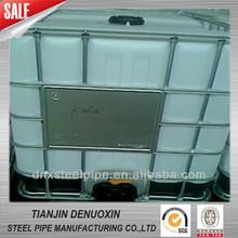DX51D+Z Hot dipped galvanized Square Steel tuberia