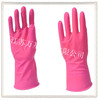 wj16 45g pink household latex gloves kitchen cleaning water proof protect hands