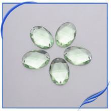 Sew on flat back acrylic rhinestone rhinestone button for clothings