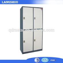 High Quality knock down steel storage Locker with 4 door