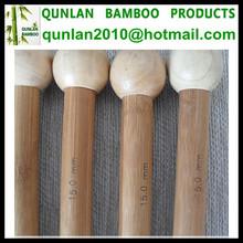Eco-friendly Bamboo Knitting Needles Engraved Logo