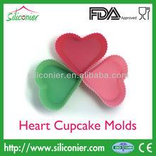 Silicone Heart Shape cupcake