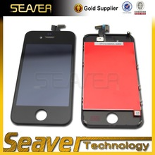 Mobile phone spare parts,used lcd panel front displays for iphone 4